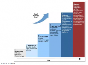 Forrester - SaaS maturity level